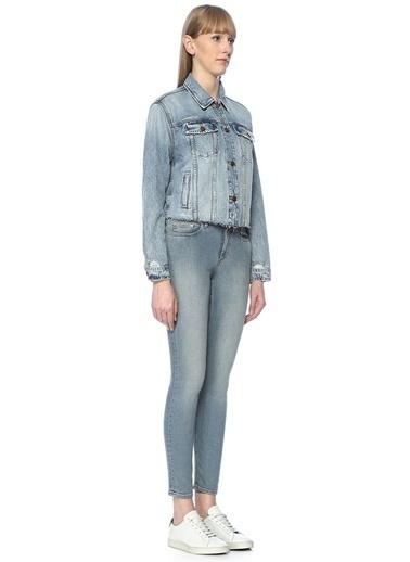 Joe's Jeans Ceket Mavi
